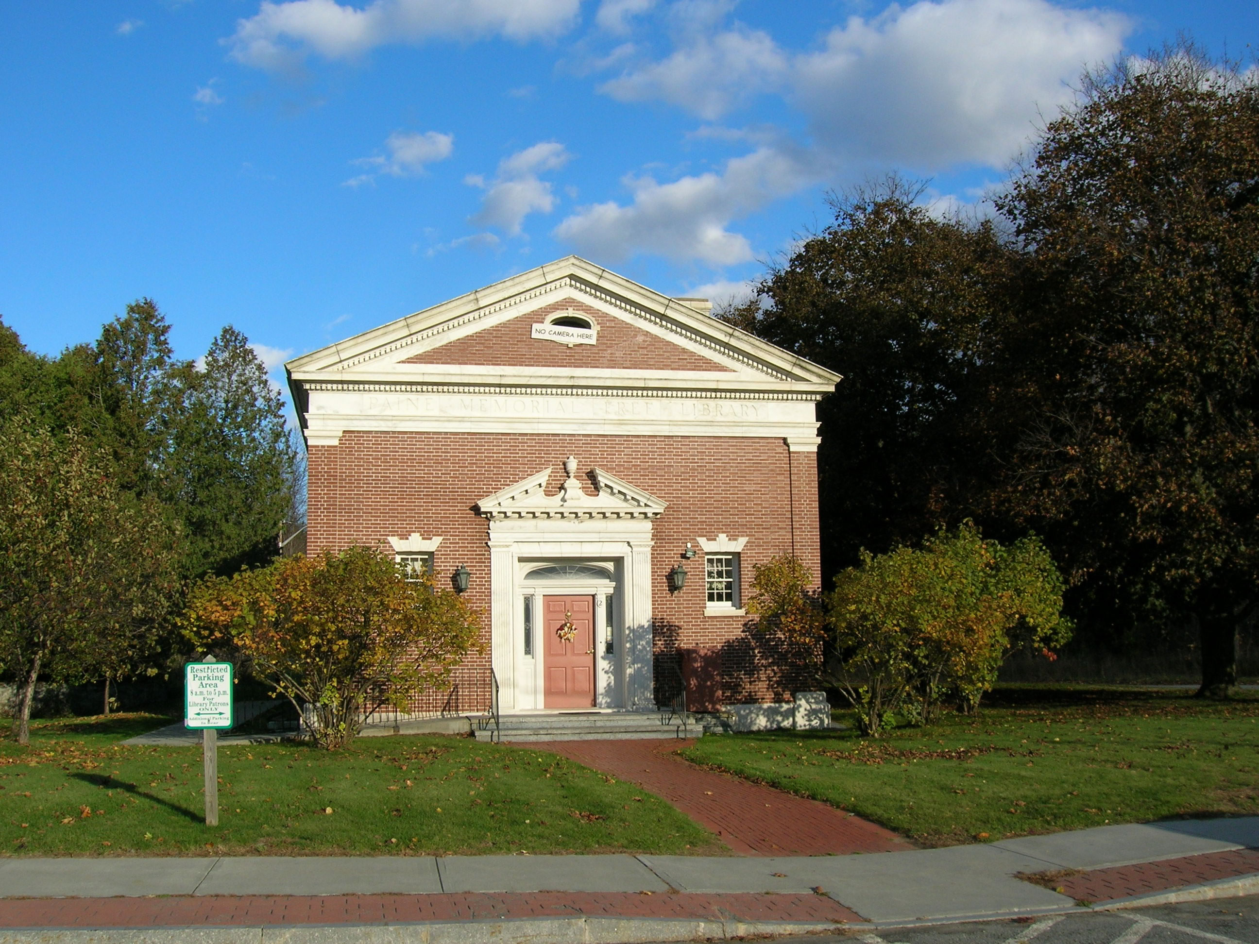 Paine Memorial Library